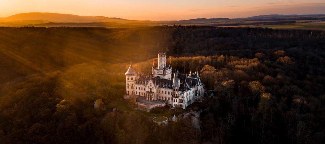 Herbstliche Impressionen Schloss Marienburg