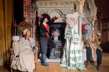 Nachts im Schloss-Museum - Familienbande