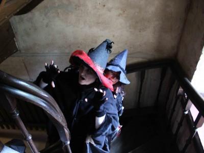 Halloween mit den Hexen Tarantrulla und Agatha auf Schloss Marienburg