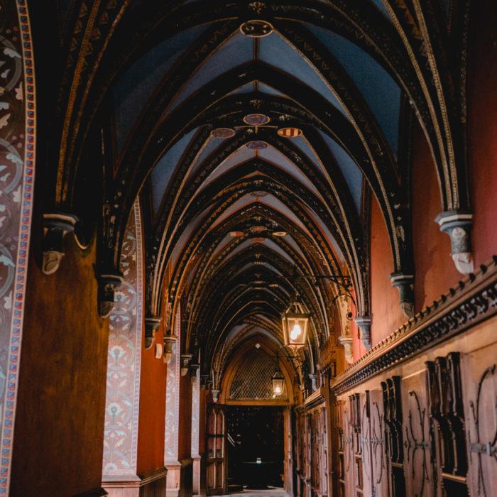 Gewölbegang - Schloss Marienburg