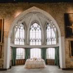 Feierliches Tischgedeck im gehobenen Ambiente - Schloss Marienburg