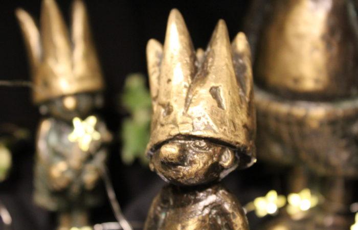 Hochwertige Metallfiguren im Shop des Schlosses Marienburg
