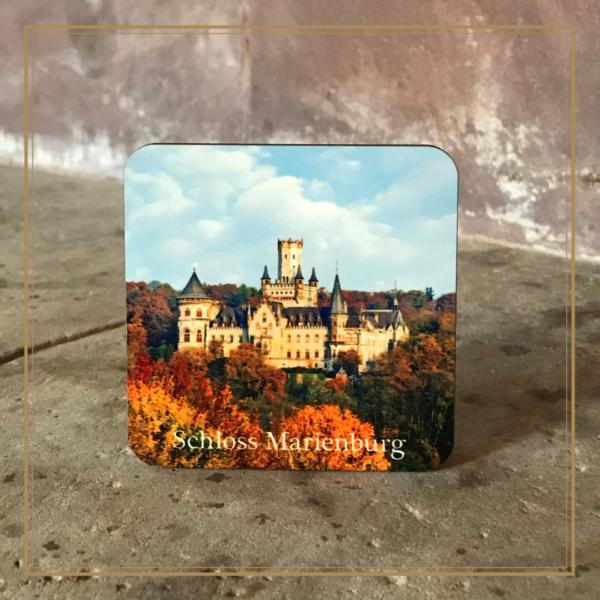 Untersetzer mit Herbstbild